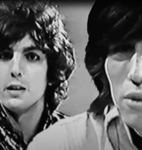 Syd Barrett and Roger Waters of Pink Floyd